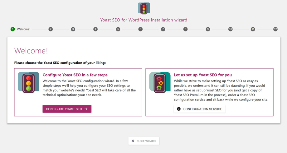 yoast seo manual configuration