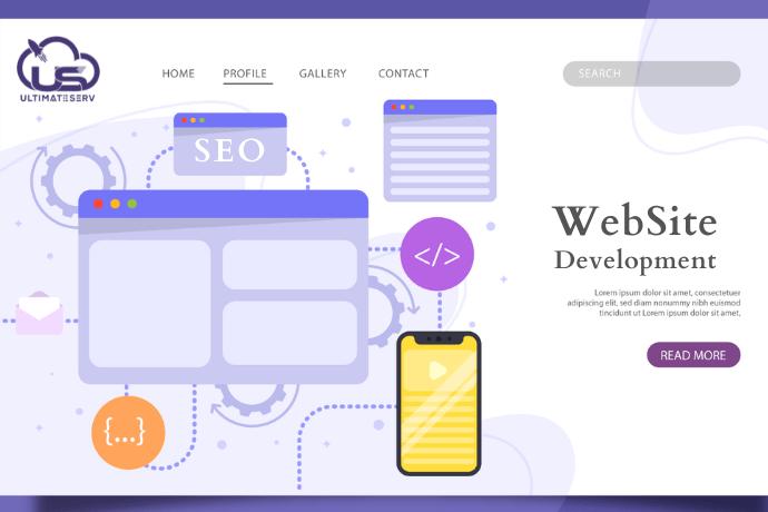 تطوير الموقع الإلكتروني